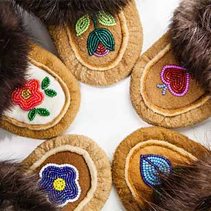 Buy Moosehide Moccasins