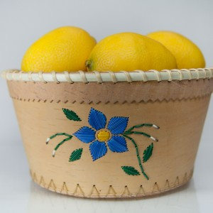 Birchbark Open Pail Baskets