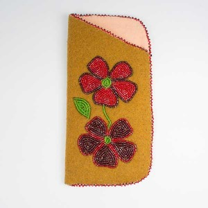 Moosehide Beaded Glasses Cases